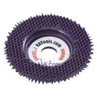 King Arthur's Tools Merlin2 Flat Carbide Abrasive Disc Set, Extra Coarse