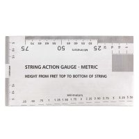 String Action Gauge, Guitar