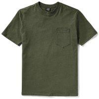Filson Short Sleeve Outfitter SolidOne-Pocket T-Shirt, Otter Green, taglia M