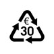 30,- € Recycling pass