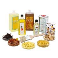 Natural Finishing Supplies Starter Kit, 11-Piece Set