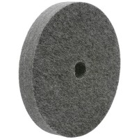 Felt Polishing Wheel, Mixed Wool Felt, Straight