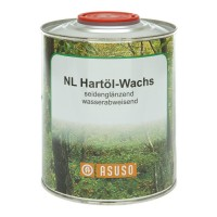 ASUSO NL Hard Oil Wax, Water-repellent, Satin Gloss, 750 ml