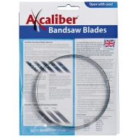 Axcaliber Bandsaw Blade, 1790 x 9.5 mm, Tooth Spacing 6.3 mm