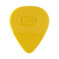Herdim Nylon-Picks, Heart-Shaped, 100-Piece Set, Thin