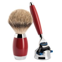 Mühle Shaving Set Urushi, 2 pieces