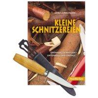 Set Schnitzbuch und Schnitzmesser für Kinder