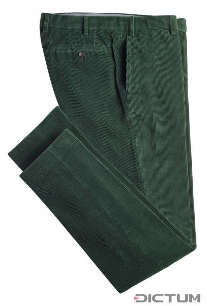 Hiltl Herrenhose Cord, grün, Größe 25