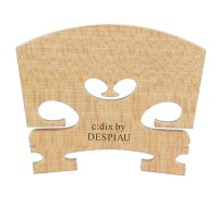 c:dix by Despiau Bridge, Selected Quality, Unfitted, Treated, Violin 4/4, 42 mm