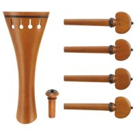 c:dix Classic Set, Boxwood, Black Trim, 6-Piece Set, Violin 4/4, Thin