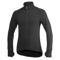Woolpower Cardigan, Black, 600 g/m², Size S