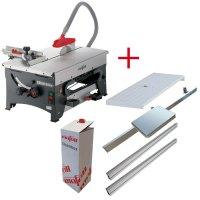 Oferta:ERIKA 85 Ec+stół przesuwny/rozszerzający/przedłużenie prowadnicy/Cleanbox
