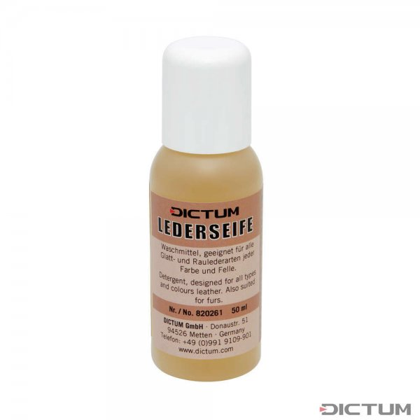 DICTUM Leather Soap for all Types of Leather