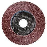 Disque abrasif à lamelles Klingspor, 125 mm, grain 60
