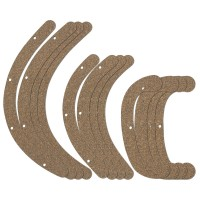 Rubber Cork Pads for Herdim Gluing Clamp Set, Cello