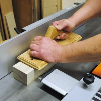 Using Stationary Woodworking Machines
