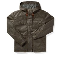 Filson Women's Short Field Jacket, Burnt Olive, L