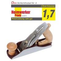 DICTUM Schlichthobel Nr. 4, SK4-Eisen