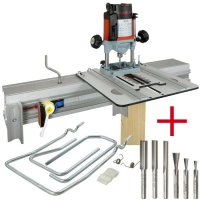 SET: WoodRat WR900, Cutter Set 1, PlungeBar C/F + MAFELL Hand Router Lo 65 Ec
