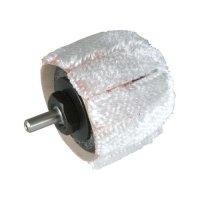 Bürstenhülse für Schleifkörper Nr. 140R, 1 Stück, ballförmig Ø 42 x 35 mm