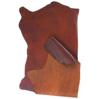 Swedish Cowhide, Half Side, Brown, 12-13 sq. ft.