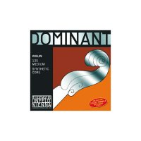 Jeu de cordes Dominant de Thomastik, violon 4/4, E Alu