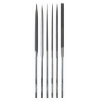 Glardon/Vallorbe Needle Files, 6-Piece Set, Cut 0