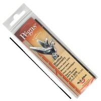 Lames de scie à chantourner Pégas MGT, largeur de lame 0,76 mm, 12 pièces