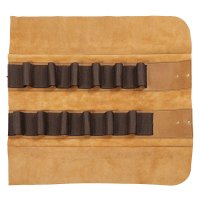 Leather Tool Roll Deluxe, 12 Pockets