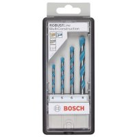 Multi-Purpose Drill Bits Multi Construction, 4-Piece Set