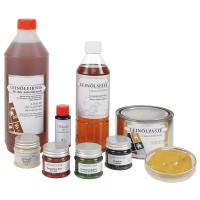 Surfaces with Linseed Oil
