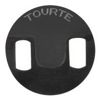Rubber Mute Tourte, Round, Bass