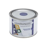 Linseed Oil Paste Ultramarine Blue