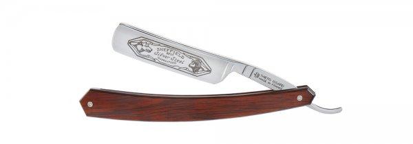 "Navaja de afeitar con grabado ⅝"", madera de estamina"