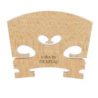 Ponticello c:dix by Despiau, qualità sel. grezzo, trattato, violino 3/4, 38 mm