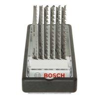 BOSCH  Jig Saw Blades Set, Wood Expert - Robust Line, 6-Piece Set