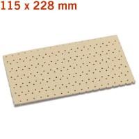 useit-Superpad P 115 x 228 mm, P 80, 10-Piece Set