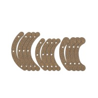 Rubber Cork Pads for Herdim Gluing Clamp Set, Violin
