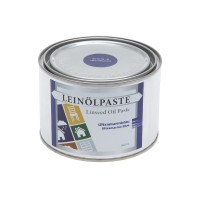 Linseed Oil Paste Ultramarine Blue