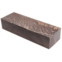 Raffir Stabilised Plane Tree, Snake Cut, Black