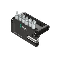 Wera Standard Bit Set in Bit-Check, Torx, 7-Piece Set