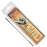 Pégas Coping Saw Blades, Skip Blade Width 0.76 mm, 12-Piece Set