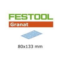 Festool Abrasifs STF 80 x 133 P80 GR/50