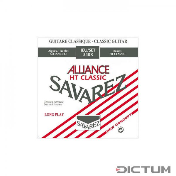 Corde Savarez Alliance HT Classic, chitarra, 540R Normal Tension