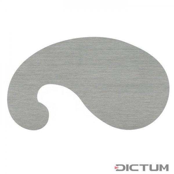 Cyklina francuska, »łabędzia szyja«, grubość 0,40 mm