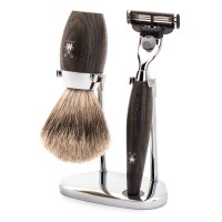Mühle Shaving Set »Kosmo«, 3-Piece Set, Bog Oak
