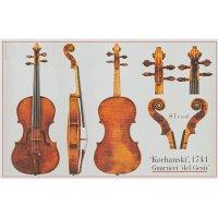 Póster, violín, Giuseppe Guarneri del Gesù, »Kochanski« 1741