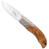 Viper Folding Knife Quality, Amboina Burr Wood