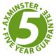 Axminster - Garantie 5 ans pour les mandrins