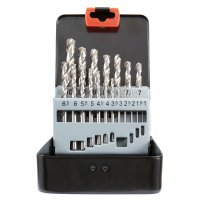 Twist Drill »Speed«, Metal, 19-Piece Set in a Metal Case